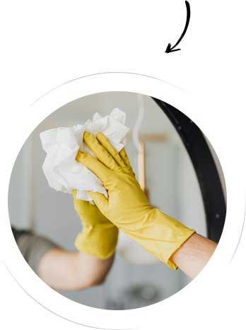 Areazione bimestrale della casa - 3h di pulizia (mese di aprile)